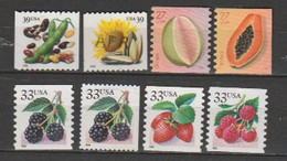 USA-Lot Of 29 Unused Stamps.Topic:Plants(Flowers,Fruits,Vegetable). - Sonstige