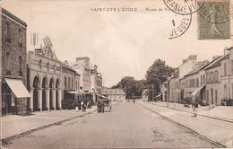 CPA - Saint-Cyr-l'école  - Route De Versailles - 1921 - St. Cyr L'Ecole