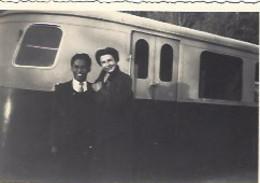 3 Photos 9*6 + 4 Photos 8,5*8,5 De La Gare Chambon Sur Lignon Près Le Puy. Train,autorail, Années 1960 - Eisenbahnen