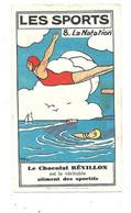 CL28 - CHROMO CHOCOLAT REVILLON - LA NATATION - Revillon