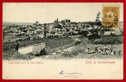 CPA Turquie - Salut De Constantinople - Calfa Keuy Près De San Stéfano - Turquia