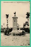 Fontaine Les Grès - Aube - Monument Commémoratif - Nogent-sur-Seine