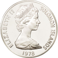 Monnaie, Îles Salomon, 5 Dollars, 1978, FDC, Argent, KM:7 - Solomon Islands