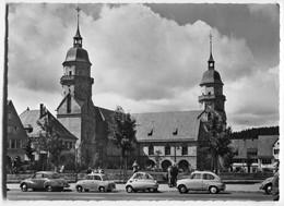 BMW Isetta,Goggomobil,DKW F89,Fiat 600,VW Käfer,Freudenstadt,Marktplatz, Ungelaufen - Passenger Cars
