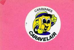 AUTOCOLLANT STICKER.  CARAVANES  CARAVELAIR - Pegatinas