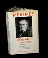 [La PLEAIDE] MERIMEE (Prosper) - Romans Et Nouvelles. - La Pléiade