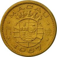 Monnaie, Macau, 10 Avos, 1967, TTB+, Nickel-brass, KM:2a - Macau
