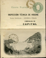 64931 Argentina, Circule Stationery 1901 Dique San Roque F.c. A. Cosquin   Dam, Damm,  Barrage - Elettricità