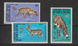 Afars Et Issas 1976 Faune 416-418 3 Val. ** MNH - Neufs
