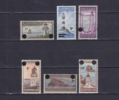 NEW ZEALAND 1967, SG# L50 - L55, Lighthouses, MNH - Ongebruikt