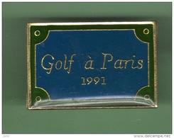 GOLF *** PARIS 1991 *** 2113 - Golf