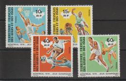 Afars Et Issas 1976 Série JO Montréal 431-34 4 Val. ** MNH - Neufs