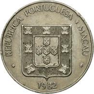 Monnaie, Macau, Pataca, 1982, Singapore Mint, TTB, Copper-nickel, KM:23.1 - Macau