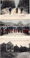 3 CP Frontière Franco-allemande Avant 1914 Douaniers Allemands Au Donon Et à Saales + Ancienne Douane Française - Dogana