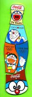 5 Pin's Coca-Cola Bouteille Puzzle Doraemon TV Asahi JO Jeux Olympiques Tokyo 2020 (Médias) - SP01 - Coca-Cola