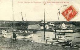 Société Nautique De Narbonne = Vue De L'avant Port Et De La Cité     2414 - Narbonne