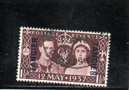TANGIER 1937 O - Bureaux Au Maroc / Tanger (...-1958)