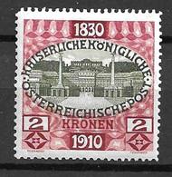 Autriche YT N° 133 Neuf *. B/TB. A Saisir! - Nuovi