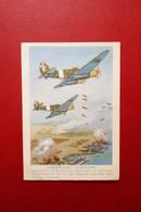 Cartolina Aeroplani Caproni Franchigia Militare Grafica E. Monti Viaggiata 1942 - Non Classificati