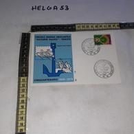 FB9744 TRIESTE 1975 TIMBRO ANNULLO CELEBRAZIONE CINQUANTENARIO NAZARIO SAURO SEZIONE CANOTTAGGIO - 1971-80: Marcophilia