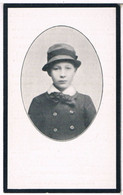 Dp. Leerling Op St.Loysiusgesticht. Van Reusel Gerardus. ° Gheel 1903 † Liessel-Gheel 1917  (2 Scan's) - Religion & Esotericism