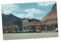 Vintage Postcard 1950's Main Street Of Silverton, Colorado Unused. Vintage Vehicles, Cars. Read Description BB - Rocky Mountains