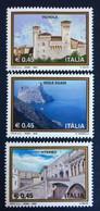 2004 - Italia - Propaganda Turistica - Viterbo - Isole Egadi - Vignola - Serie Tre Valori - 2001-10:  Nuovi