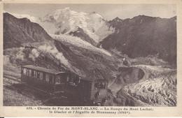 74 SAINT GERVAIS LE FAYET TRAMWAY DU MONT BLANC RAMPE DU MONT LACHAT GLACIER DE BIONNASSAY ED MORAND 654 - Saint-Gervais-les-Bains
