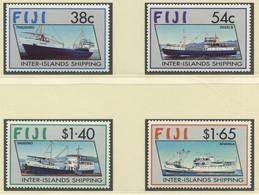 FIDSCHI-INSELN / MiNr. 656 - 659 / Schiffsverbindungen Zwischen Den Inseln / Postfrisch / ** / MNH - Boten