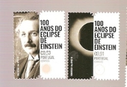 Portugal ** & 100 Years Of Einstein's Eclipse 2019 (7841) - Unused Stamps