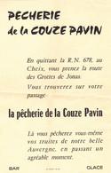 La Pêcherie De La Couze Pavin - Collezioni