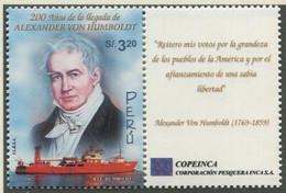 PERU / MiNr. 1842 / 200. Jahrestag Des Aufenthaltes Von Alexander Von Humboldt In Peru / Postfrisch / ** / MNH - Boten