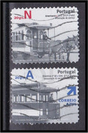 Portugal 2007 Transportes Públicos Urbanos Transports Trasporto Transporte Taxi Carris Wagon American - Used Stamps