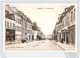 13113 FRD27  AK/PC/CPA/27/GISORS/LA GRANDE RUE/HOTEL DE LA VIERGE/TTB - Pacy-sur-Eure