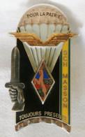 """Insigne 195e Promotion De L'ENSOA """"SCH MASSON"""" - TAP - Devise """"POUR LA PATRIE TOUJOURS PRESENTS"""" - Esercito"""