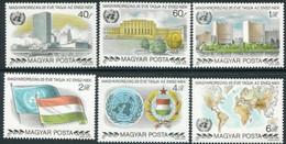 HUNGARY 1980 UN Membership Anniversary  MNH /**.  Michel 3461-66 - Ungebraucht