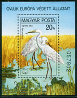 HUNGARY 1980 Nature Protection: Waterfowl Block MNH / **.  Michel Block 146 - Ungebraucht