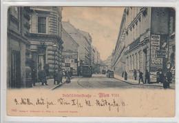 Wien  VIII.  ,   1899 ,  Josefstädter Straße , Straßenbahn  , Schienen  , Tramway - Other