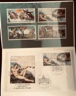 Vaticano 1994 Serie Cappella Sistina + FDC Luxe** - Ungebraucht