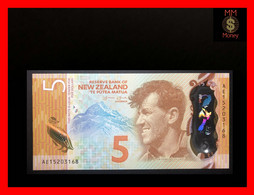 NEW ZEALAND  5 $  2015  P. 191   Polymer    UNC - New Zealand