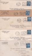 Divers LSC Timbre Roosevelt  Pour Aire/Adour 1929-1930 - Storia Postale