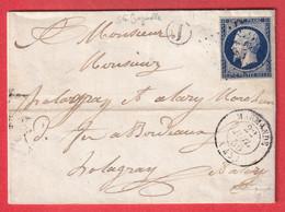 N°14 PC 1885 MARMANDE LOT ET GARONNE BOITE RURALE J STE BAZEILLE POUR BORDEAUX - 1849-1876: Klassik