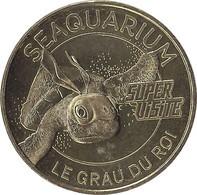 2021 MDP158 - LE GRAU-DU-ROI - Seaquarium 8 (super Visite-tortue) / MONNAIE DE PARIS 2021 - Other