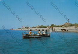 CARTOLINA  MELITO PORTO SALVO,REGGIO CALABRIA,CALABRIA,LA SPIAGGIA,BAGNI,LUNGOMARE,STORIA,CULTURA,VACANZA,VIAGGIATA 1979 - Reggio Calabria