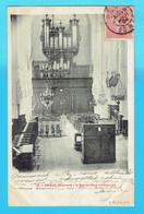 CPA NESLE , L'Eglise Vue Intérieure - Orgues -orgue 80 Somme - Nesle