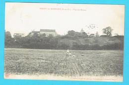 CPA MAGNY LES HAMEAUX - Vue Des Ruines - 78 Yvelines - Magny-les-Hameaux