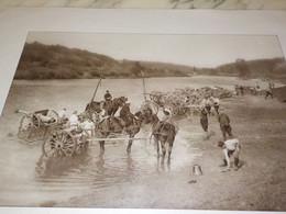 PHOTO TOILETTE D UNE BATTERIE DE 75 1914 - Andere