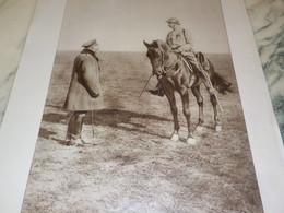 PHOTO PLAINE DE FRANCE LE ROI D ANGLETERRE 1914 - Andere