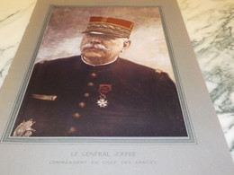 PORTRAIT DU GENERAL JOFFRE  1915 - Andere