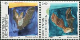LIECHTENSTEIN 2005 Bats Animals Fauna MNH - Bats